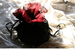 Dark Dreams Mittelalter Pompadour Tasche Beutel Beutelchen Yvette , Farbe:schwarz -