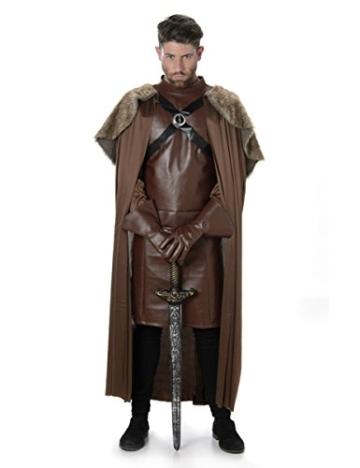 Karnival Costumes  – Ritter Kostüm für Herren Taille L -