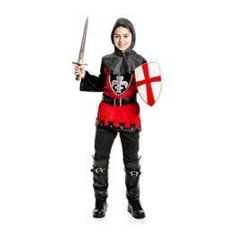 Kostümplanet® Ritter Kostüm Kinderkostüm Ritter Größe 116 -