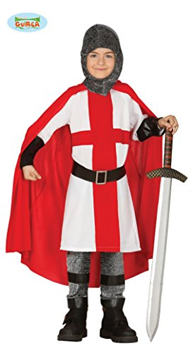 Kreuzzug Ritter – Kostüm für Jungen Gr. 110 – 146, Größe:128/134 -