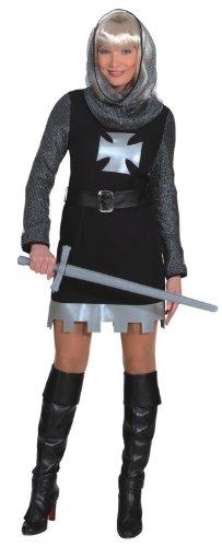 Damen Kostüm Ritter Dame als Burgfräulein zu Karneval Fasching Gr.44 -