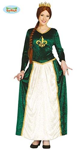 grünes Prinzessin Kostüm für Damen Gr. M und L, Größe:M -