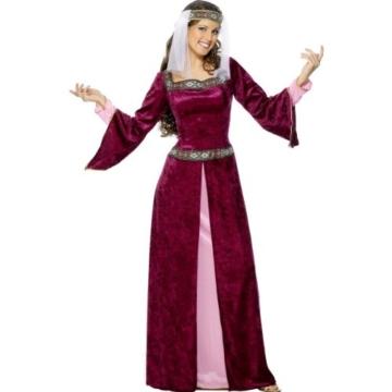 Karneval Damen Kostüm Lady Marian Mittelalter Burgfräulein Larp XL -