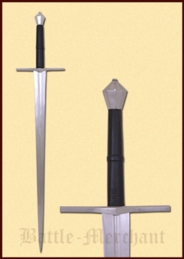 Zweihänder 114cm Kohlenstoffstahl Dekoschwert Mittelalter Schwert two handed sword -